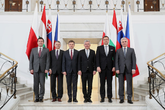 The Official Meeting of the V4 Parliamentary Speakers
